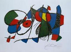 """Joan Miro """"Volume II Litho VIII"""""""