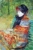 Mary Cassatt - Profile Of Lydia