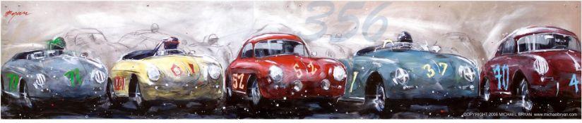 Porsche 356 by Michael Bryan