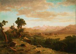 Bierstadt - Wind River Country
