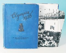 Konvolut Sammelalben Olympia 1936