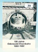 100 Jahre Odenwald-Eisenbahn 1882-1982