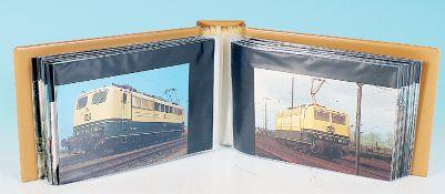 100 Ansichtskarten Eisenbahnen