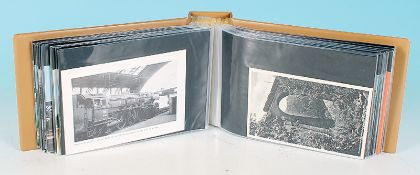 100 Eisenbahn-Postkarten
