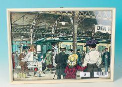 Bild einer Bahnhofs-Szene