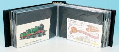 100 Eisenbahn Ansichtskarten