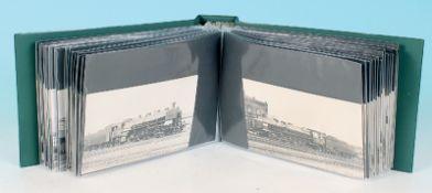 100 Eisenbahn Postkarten dt. Reich
