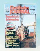Konvolut 90er Jahre Modellbahn-Zeitschriften