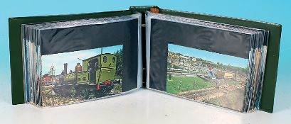 104 Eisenbahn Postkarten