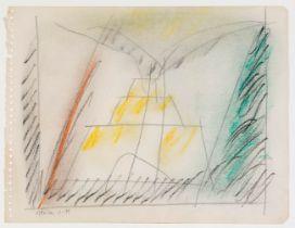 "ALBERT RÀFOLS CASAMADA (Barcelona, 1923 - 2009). ""Sèrie Mèxic núm.4"", Mexico, 1979. Pencil and"