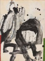 LUIS FEGA (Asturias, 1952) Untitled, 2000. Acrylic on canvas. Signed and titled. Measurements: 61