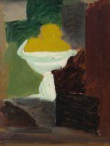 "FERNAND DUBUIS (Sion, Switzerland, 1908 - 1991). ""Etude de nature-morte"", 1948. Oil on cardboard."