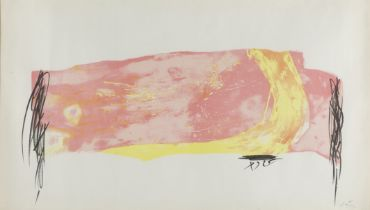 """ANTONI TÀPIES PUIG (Barcelona, 1923-2012). Untitled, part of the series """"Nocturn Matinal"""", 1970."""