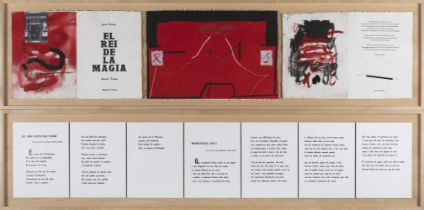 "JOAN BROSSA CUERVO (Barcelona, 1919 - 1998) and ANTONI TÀPIES PUIG (Barcelona, 1923 - 2012). ""The"