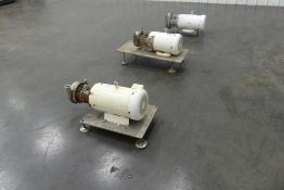 Lot of (3) Centrifugal Pumps with Baldor Motors