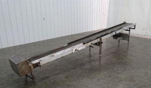 12 Inch Wide x 15 Foot Long Steel Conveyor