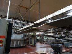 "Sandvik 120' L x 24"" W Stainless Wire Conveyor"