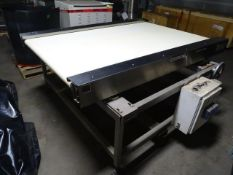 Martens SS Smooth Top Spreader Conveyor Table