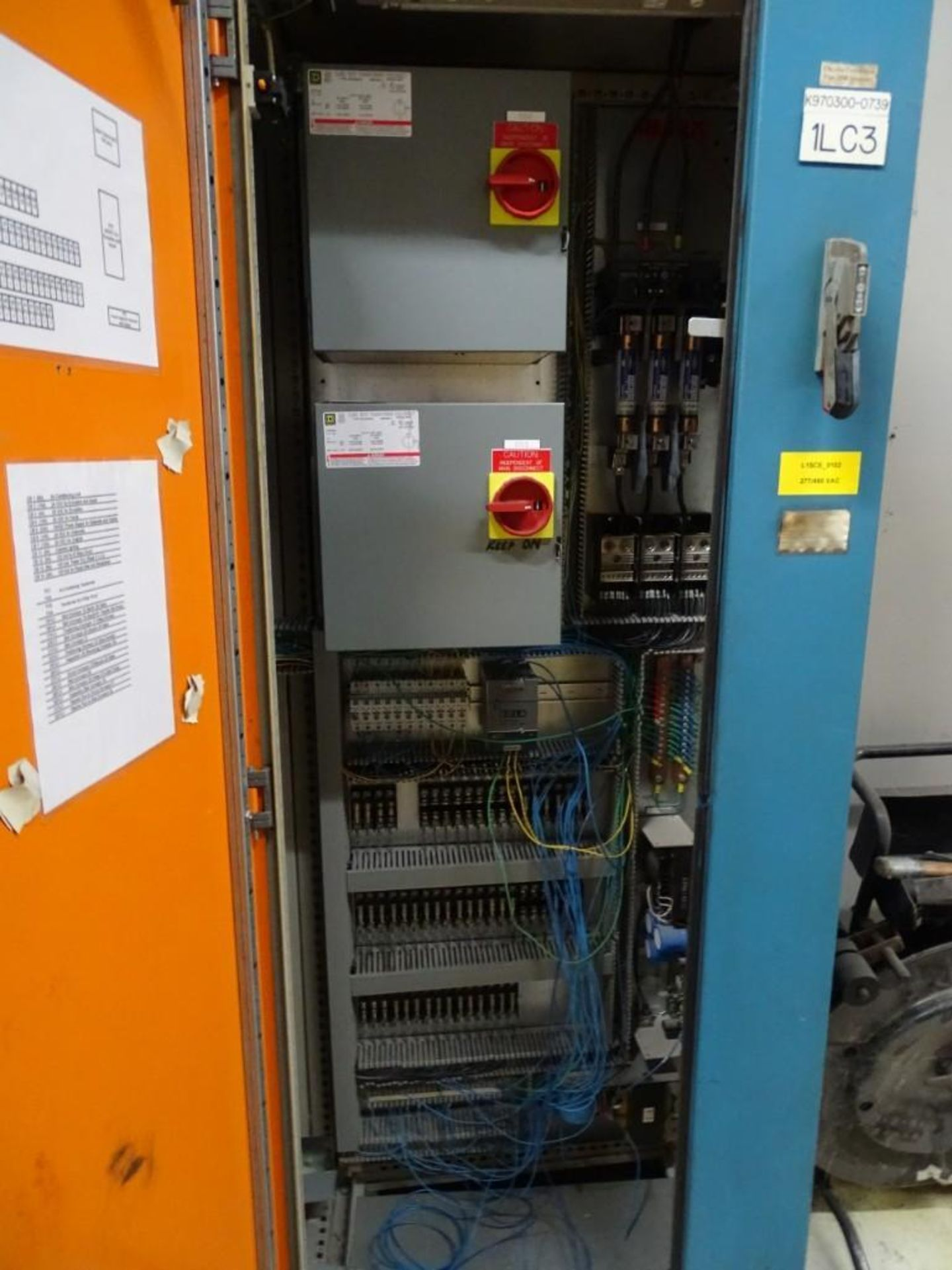 Large Control Panel with Contents - Image 2 of 5