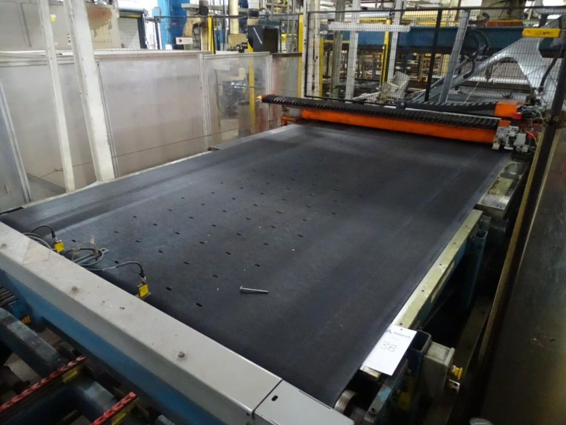 Billco Glass Cutting Conveyor System