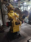 Fanuc S-420F Robotic Arm with Teach Pendant and Controls