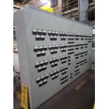 Glass Oven Monitoring Panel with Contents