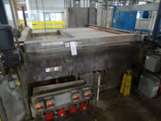 Glass Pane Pre-Washer with Holding Tank