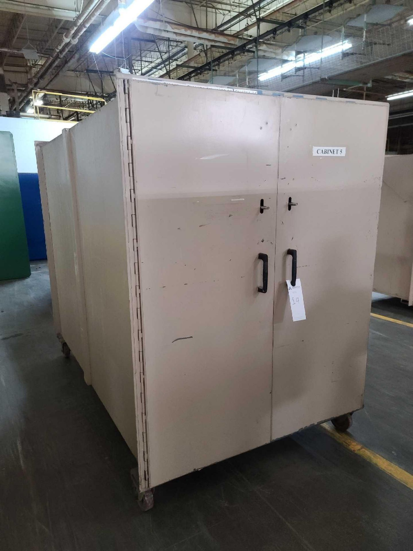 Mobile Storage Cabinet with Contents - Image 3 of 4