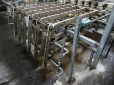 Band Conveyor with Walkthrough Gate