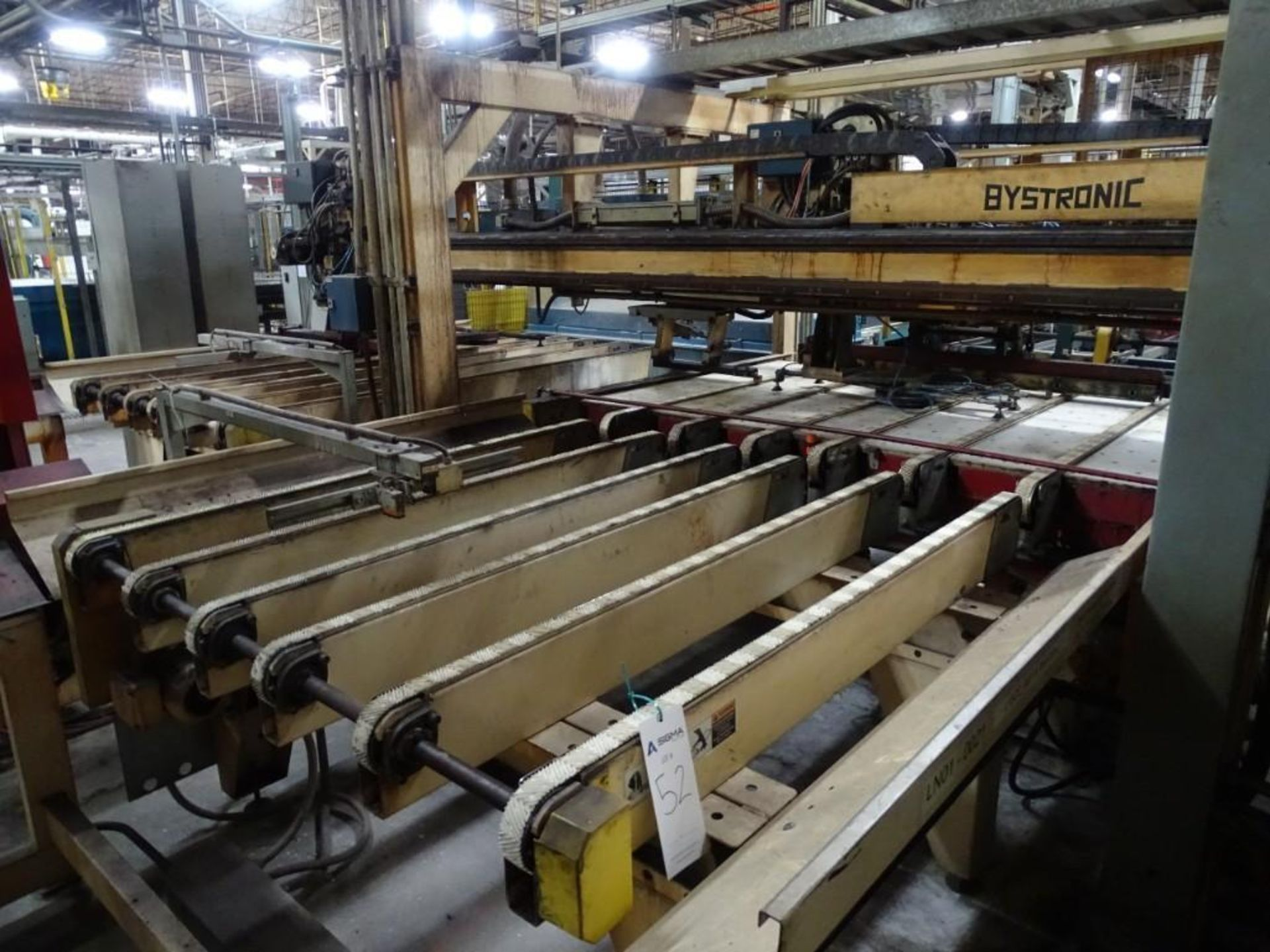 Bystronic Glass Edge Grinder with Conveyor Sections - Image 9 of 20