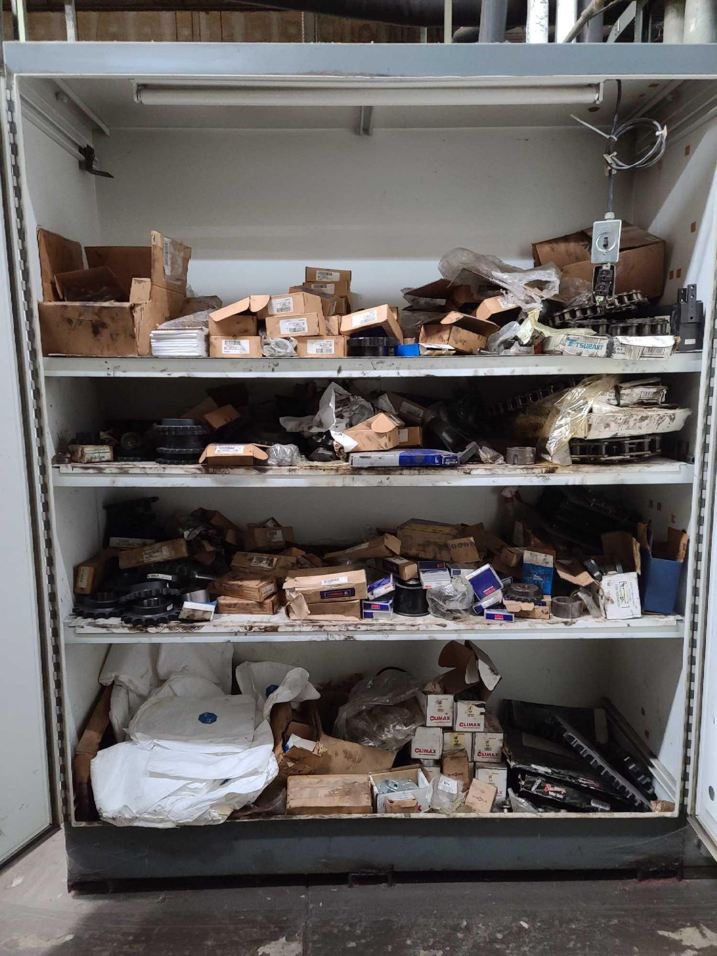 Storage Cabinet with Contents - Image 2 of 2