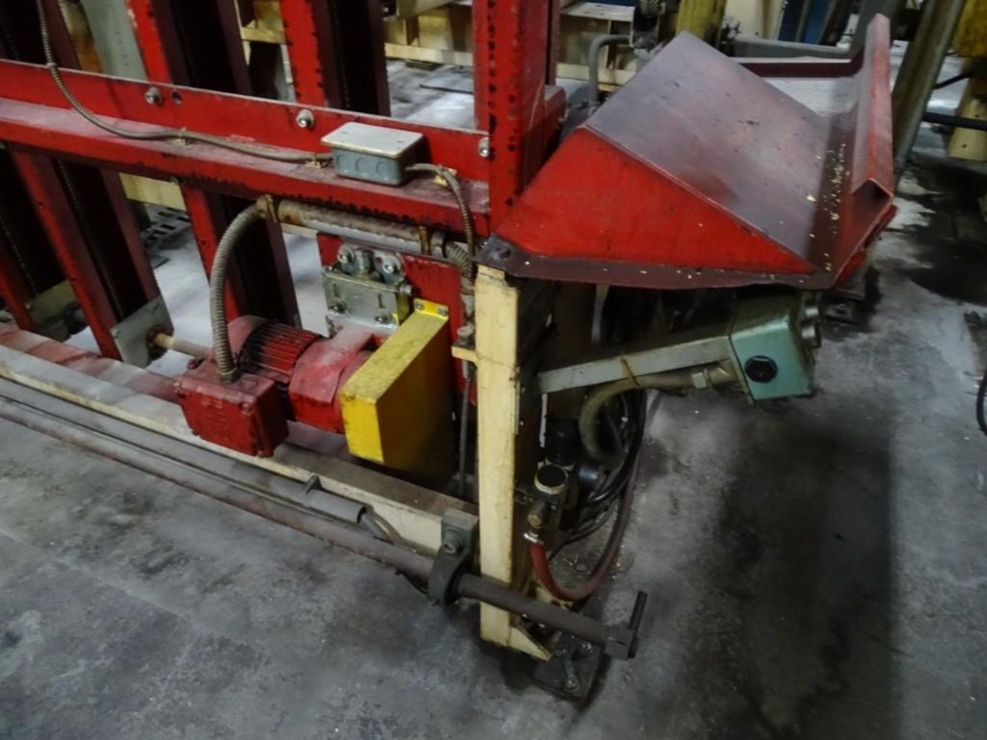 """Band Conveyor with Walkthrough Gate 72""""L x 61""""W - Image 3 of 4"""