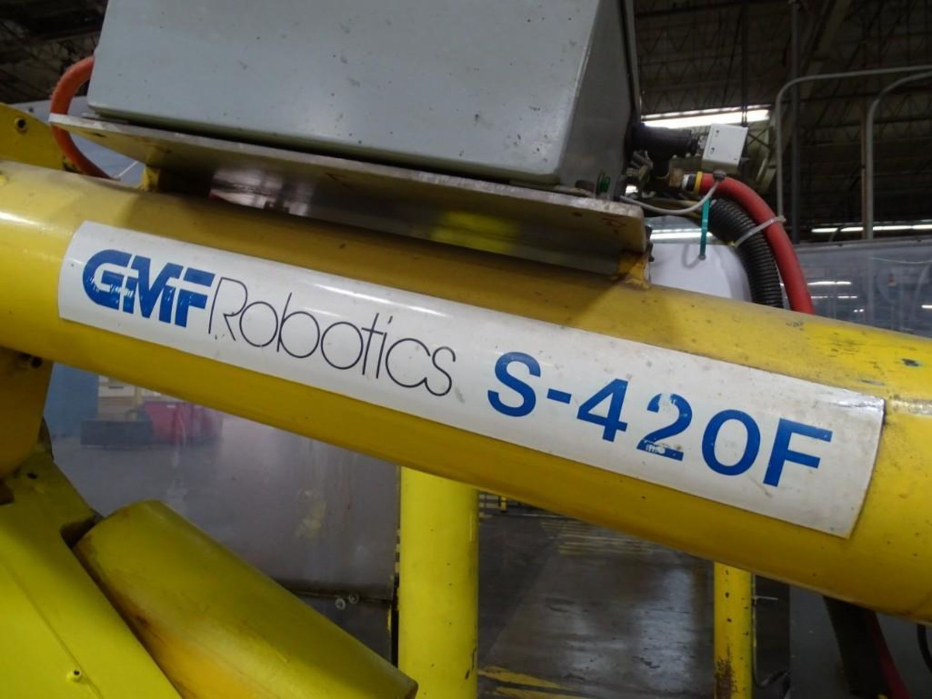 Fanuc S-420F Robotic Arm with Teach Pendant and Controls - Image 4 of 8