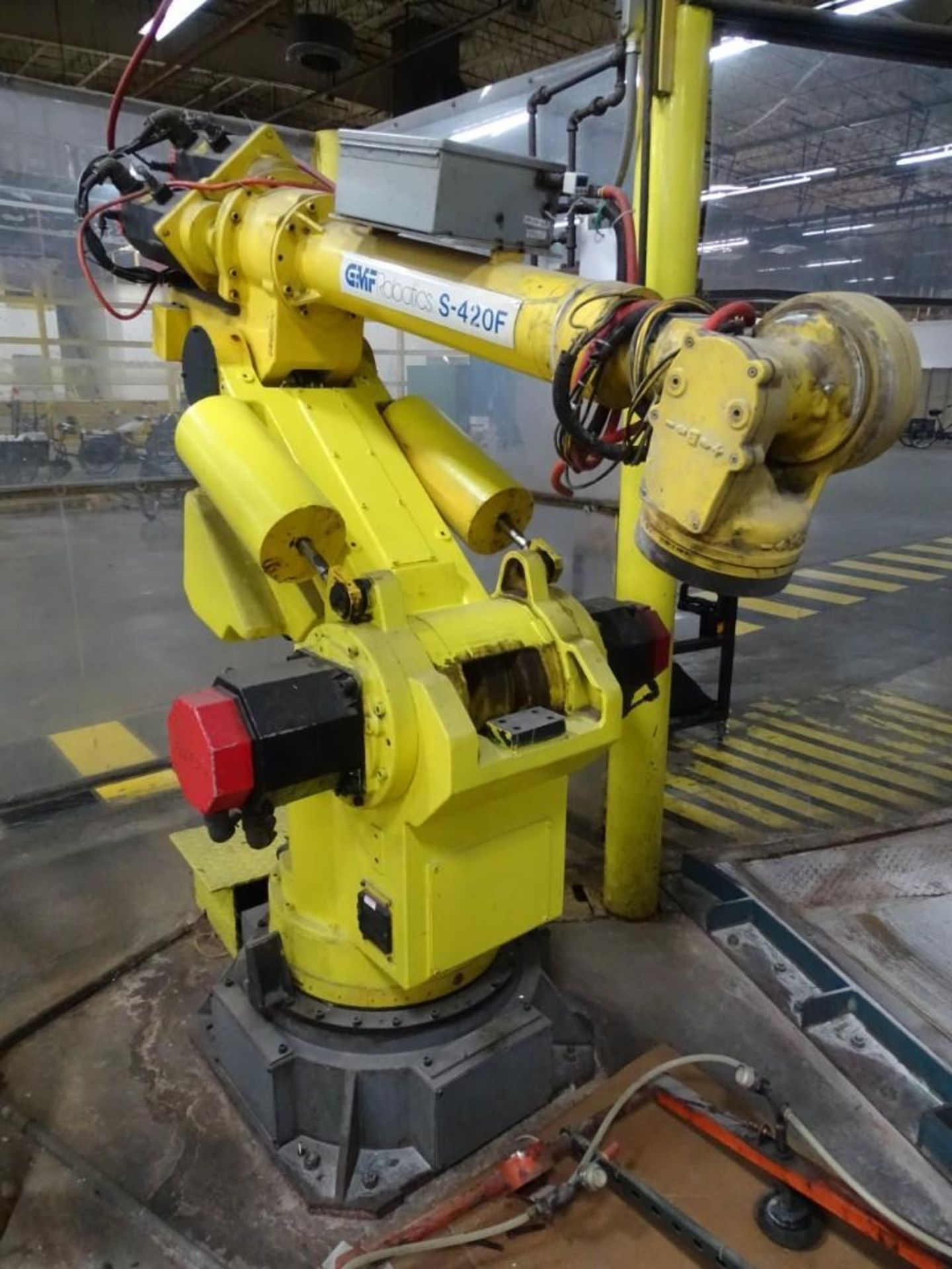 Fanuc S-420F Robotic Arm with Teach Pendant and Controls - Image 2 of 8