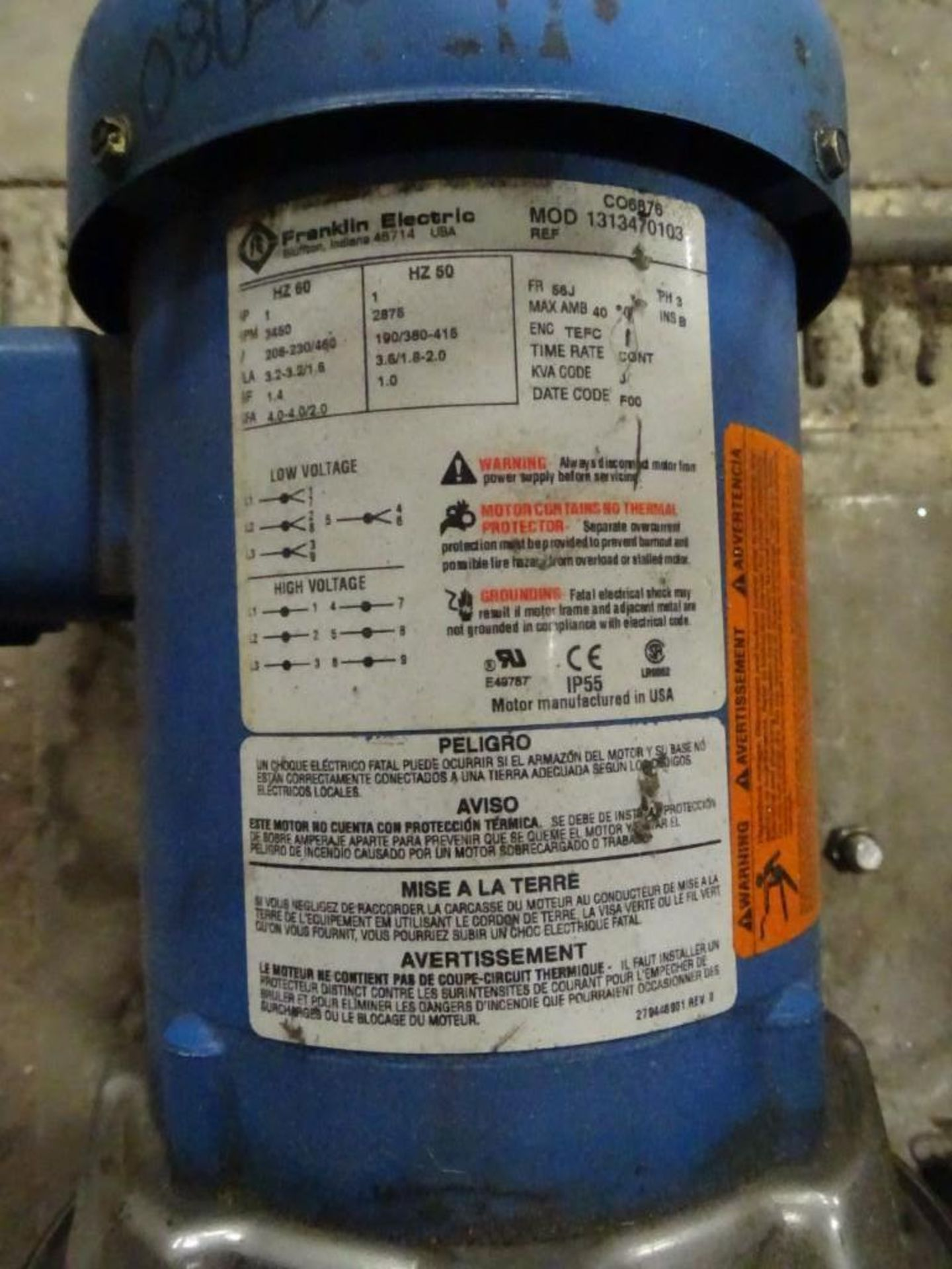 1.5 HP Centrifugal Pump with Filter Housing - Image 3 of 3