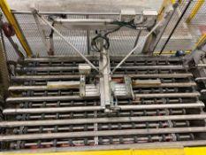 Power Roller Brush Conveyor & Band Conveyor
