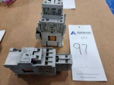 (2) Allen-Bradley 100-C09Z*10 Series A Contactors