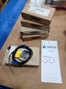 (5) Banner Photoelectric Sensors - New in Box