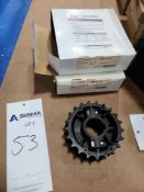 (2) Rexnord Table-Top Conveyor Chain Sprockets