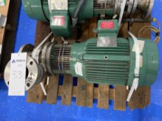 Stainless Steel Centrifugal Pump with 15HP Sterling Electric Motor