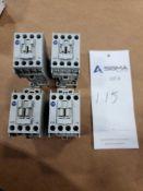 (4) Allen-Bradley 100-C09Z*10 Series A Contactors