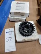 (3) Rexnord Table-Top Conveyor Chain Sprockets