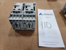 (2) Allen-Bradley 100-C16Z*10 Series A Contactors