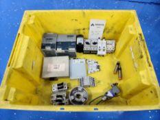 Tote of Various MRO Parts