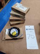 (5) Banner Q23SN6LV-55204 Photoelectric Sensors