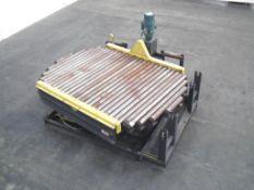Hytrol Turntable for Full Pallets 90 Degree motion