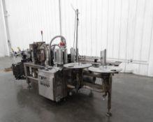 B&H BH8000 Roll Fed Wraparound Glue Labeler