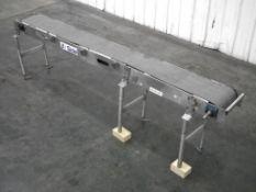 "Sidel Plastic Chain Conveyor 136"" L x 13"" W"