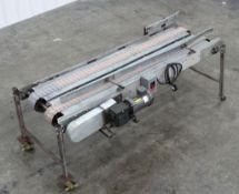 Pulver Plastic Chain Pan Line Conveyor