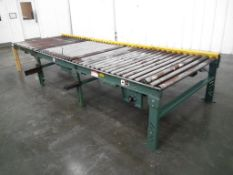 """Hytrol Roller Conveyor 15' Long x 55"""" Wide"""